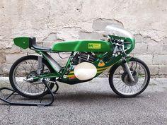Vintage Moped, 50cc, Custom Bikes, Motogp, Yamaha, Motorcycle, Racing, Mini, Running