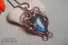 Image result for wire wrap gemstone