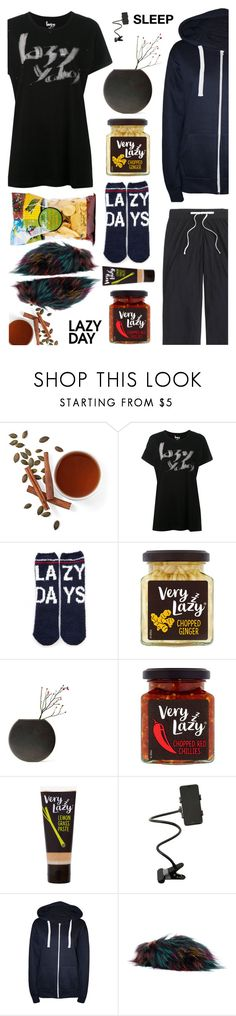 """""""SLEEP.  zzzzzz."""" by esch103 ❤ liked on Polyvore featuring Yohji Yamamoto, P.J. Salvage, Menu, Forever 21, WearAll, Steve Madden, J.Crew, LazyDay and plus size clothing"""
