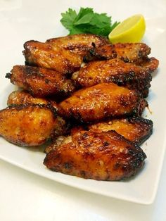 Singapore Home Cooks: Airfried honey lime chicken wings by Anna Tan