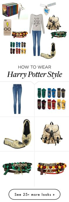"""Potter Head!!"" by futurestar12 on Polyvore featuring Calvin Klein and Casetify"