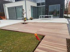 Wood Deck Designs, Garden Design, House Design, Outdoor Spaces, Outdoor Decor, Backyard, Patio, Interior And Exterior, Pergola
