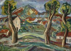 Henri EPSTEIN (1892-1944) Paysage, 1930 Oil on canvas, 54 x 73 cm