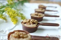 Receita de Panelinha de chocolate com nozes em receitas de doces e sobremesas, veja essa e outras receitas aqui!