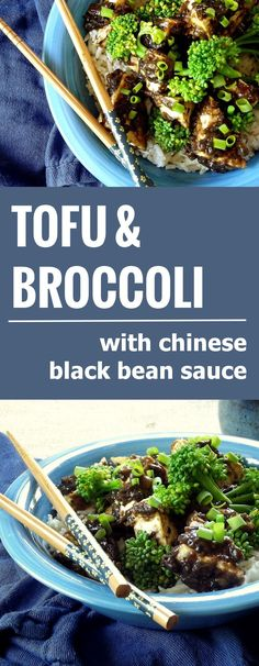 Crispy Tofu with Chinese Black Bean Sauce