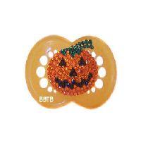 Pumpkin Bling Pacifier