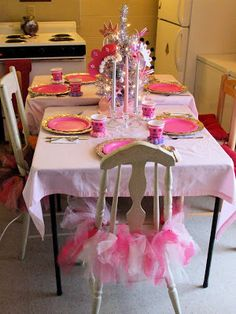 My Creative Stirrings: Princess Birthday Party