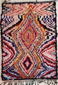 Tapis de collection du Catalogue tapis Boucharouette : TC21085 reserve Hubert