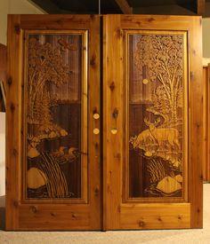 Thompson Double Doors