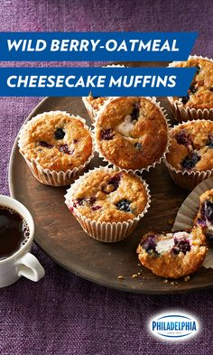 If her heart warms when biting into these delectable handbaked Wild Berry-Oatmeal Cheesecake Muffins, it's not because you pre-heated the oven to 350 degrees. It's because of brunch. Celebrate Mother's Day with this Philadelphia Cream Cheese recipe!