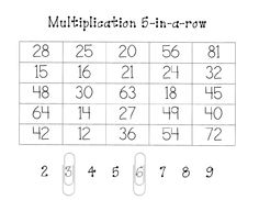 Free Multiplication Game! Great website link for Teachers pay Teachers, too
