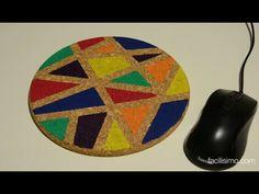 Cómo hacer una alfombrilla de ratón personalizada   facilisimo.com - YouTube