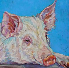 127 Best Farm Animal Paintings Images On Pinterest Cow Painting