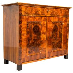 Biedermeier Sideboard or Half Cabinet | From a unique collection of antique and modern sideboards at https://www.1stdibs.com/furniture/storage-case-pieces/sideboards/