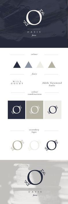 minimal design | minimal logo | logo trends 2017 | florist branding | florist logo | modern logo | O logos http://jrstudioweb.com/diseno-grafico/diseno-de-logotipos/