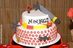 Cake #Ninja #Ninjago #Lego #boutiquefestas