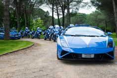 Lamborghini 50 Anniversary Gallardo Polizia