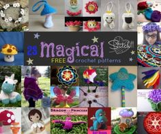 23-Free-Magical-Crochet-Patterns