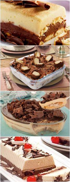 Todos amaram aqui em casa esse pavê trufado com sorvete! Derreta o chocolate em banho-maria ou no microondas. #receita#bolo#torta#doce#sobremesa#aniversario#pudim#mousse#pave#Cheesecake#chocolate#confeitaria