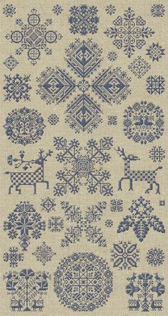 Through The Bitter Frost & Snow - 37 Christmas Ornaments - Instant Download PDF Booklet $15.00