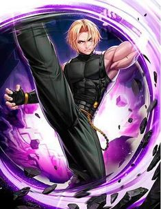 Art Of Fighting, Fighting Games, Character Concept, Character Design, Snk King Of Fighters, Fantasy Characters, Fictional Characters, Fanart, Street Fighter