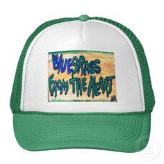 blue grass trucker hats
