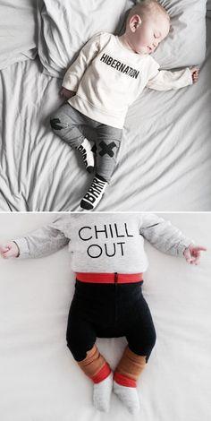 Hibernation / Chill Out Mood. Tiny Cotton. #kids #appareal