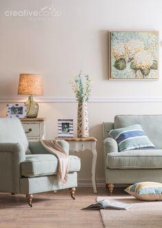 2016.3 Seaside Living Room ★ Creative Co-Op Home