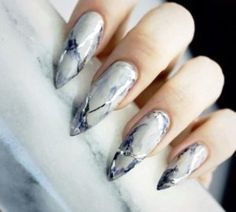 45 So Sassy Marble Nail Art Designs