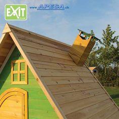 Exit Spielhaus Fantasia 100 von APESA Shed, Outdoor Structures, Outdoor Decor, Design, Home Decor, Fantasy, Wooden Playhouse, Decoration Home, Room Decor
