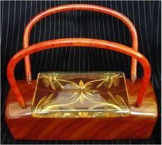 cool lucite purse