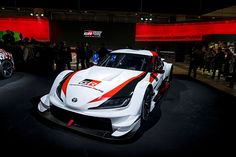 bbe98842822 At the 2019 Tokyo Auto Salon Toyota Gazoo Racing unveiled another version of  the highly-anticipated new Supra, this one headed for Super GT racing.