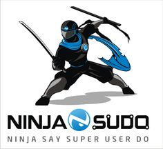 Ninja Sudo logo by motz