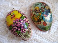 Vintage Easter Egg German by LookBackVintage on Etsy, $11.00
