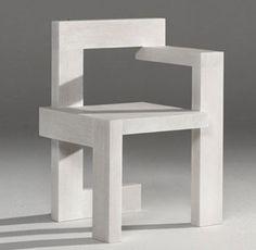 Rietveld, Gerrit Th. - Steltman Chair