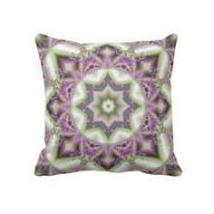 A double sided throw pillow for sale called Grandma's Fractal Quilt. hope y'all like it. :)
