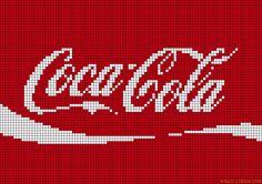 cuisine - kitchen - coca cola - point de croix - cross stitch - Blog : http://broderiemimie44.canalblog.com/