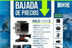 Bajada de precios en cámaras 3GO