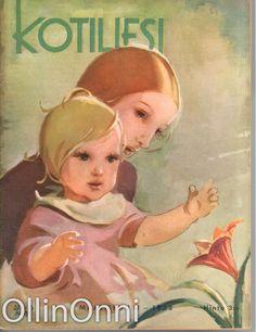 Kotiliesi 6/1938  Kansi Martta Wendelin.