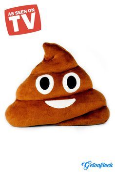 As Seen on TV - Grab our premium ultra soft emoji poop pillows today.  Shop now at www.getonfleek.com