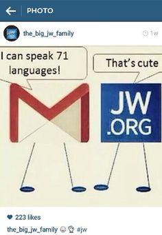 Via #the_big_jw_family instagram  #jw humor