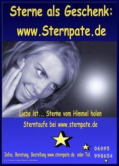 Sterntaufe Stern kaufen, stern taufen bei www.sternpate.de