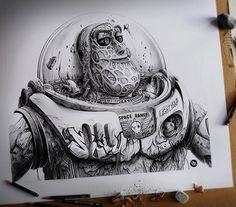 El arte de PEZ es impresionante