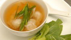 Soupe won-ton - wonton won ton asiatique chinois bouillon porc haché chou chinois