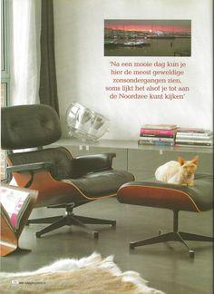 Eames lounge chair.   Ingericht door Barbara Maarschalkerweerd, projectB2 work & lifestyle