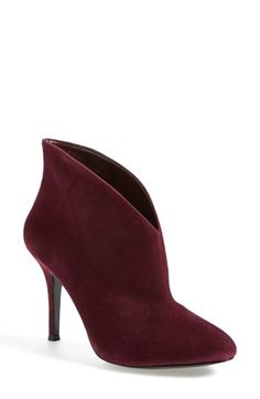 Free shipping and returns on Vince Camuto 'Caden' Bootie (Women) at Nordstrom.com. Softly undulating curves accentuate the low-cut topline of an elegant bootie.
