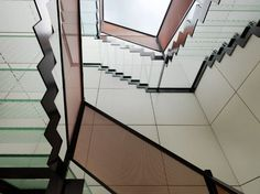 Cool glass stairs