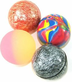 15 X Mixed Colour Jet Bouncy Balls by Henbrandt = 6p each