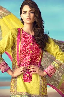 Khadijah Shah Eid Lawn Dresses 2015 http://clothingpk.blogspot.com/2015/07/khadijah-shah-eid-lawn-dresses-2015.html