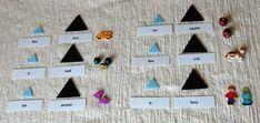 Montessori grammar with objects